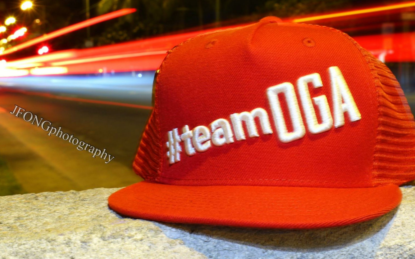 #teamOGA RED