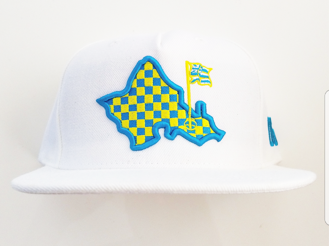 OFF DA WALL    TEAL/YELLOW LIMITED EDITION