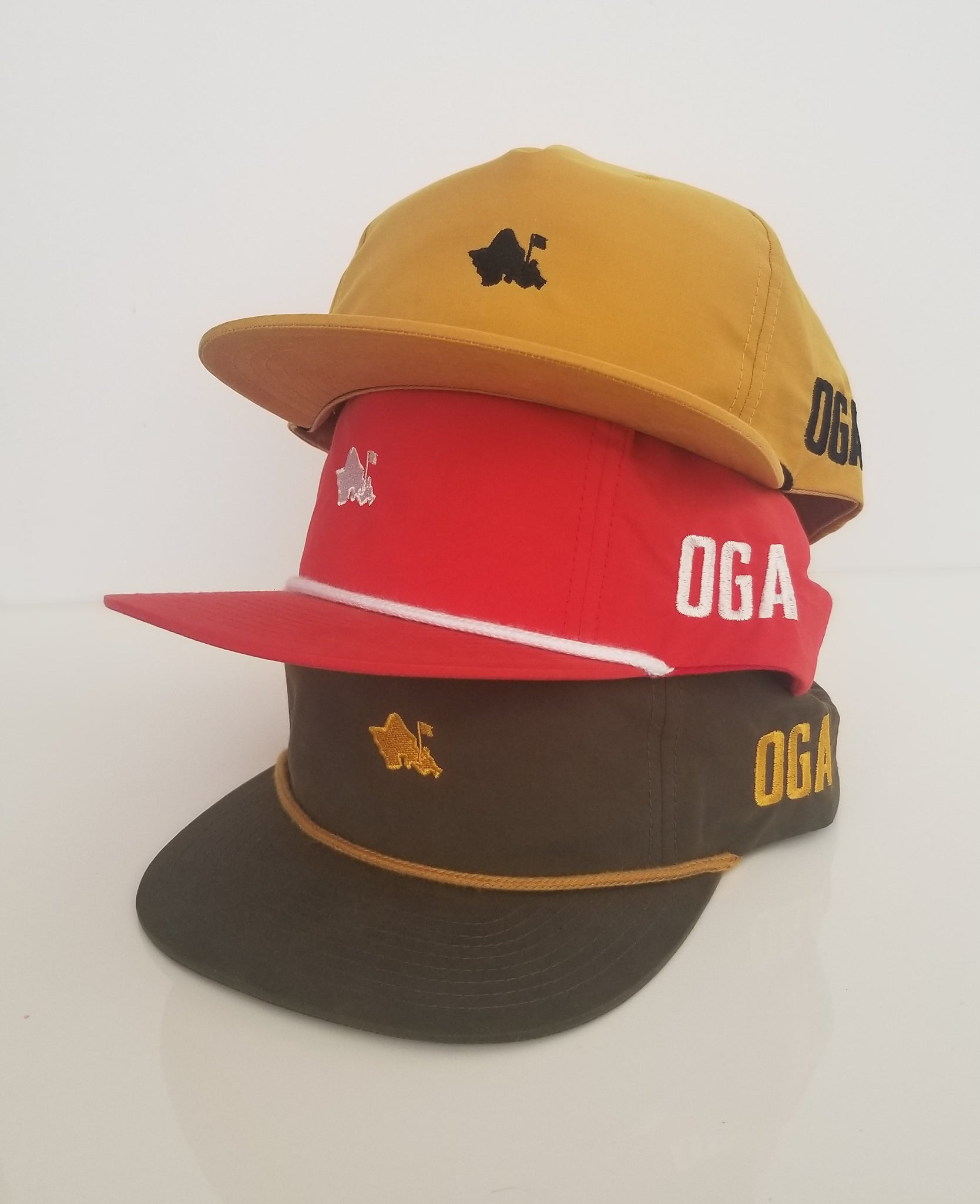 OGA OLDSCHOOL (GOLD/BLACK)