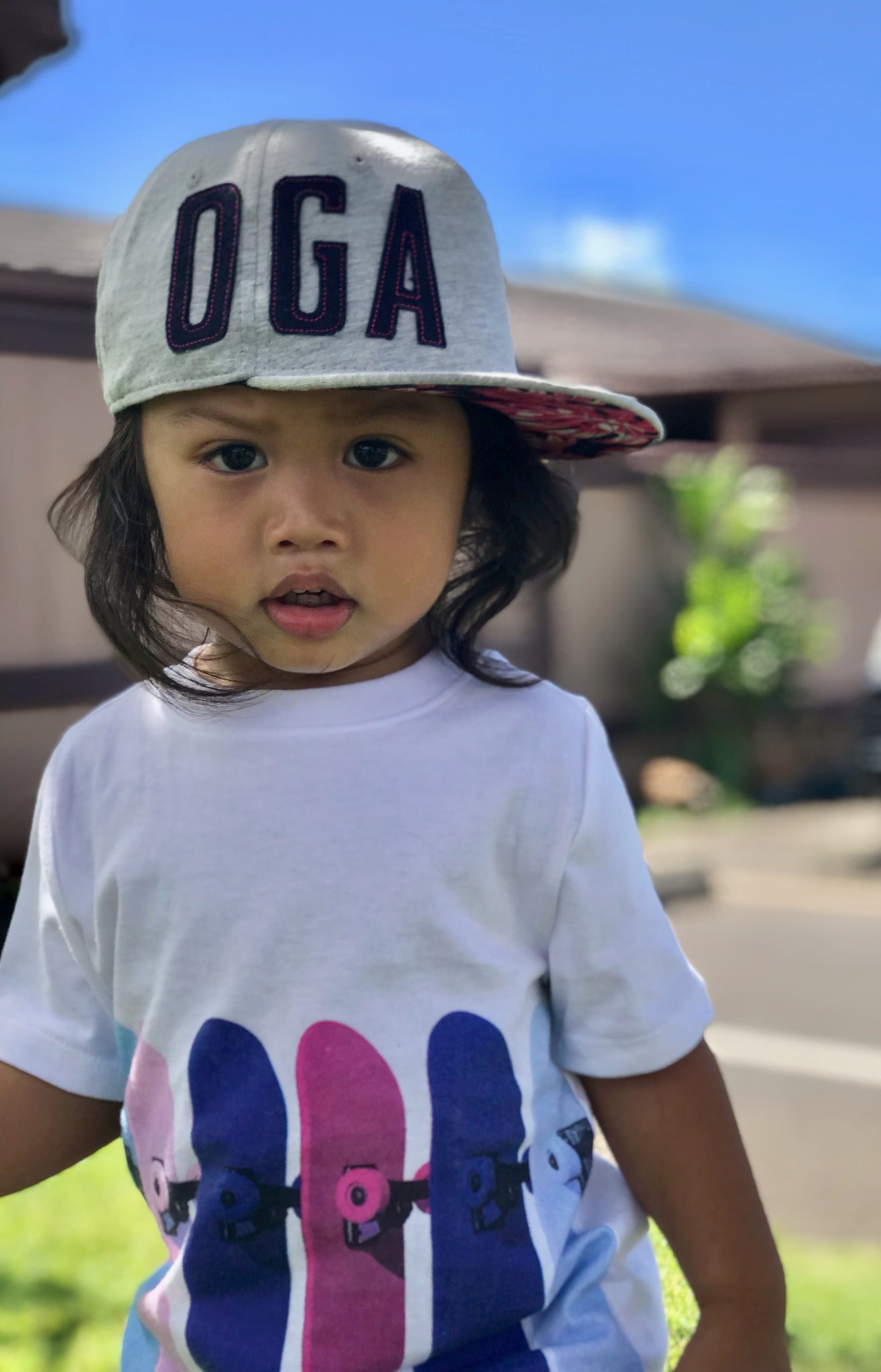 OGA BABY/TODDLER MONSTERA HAT