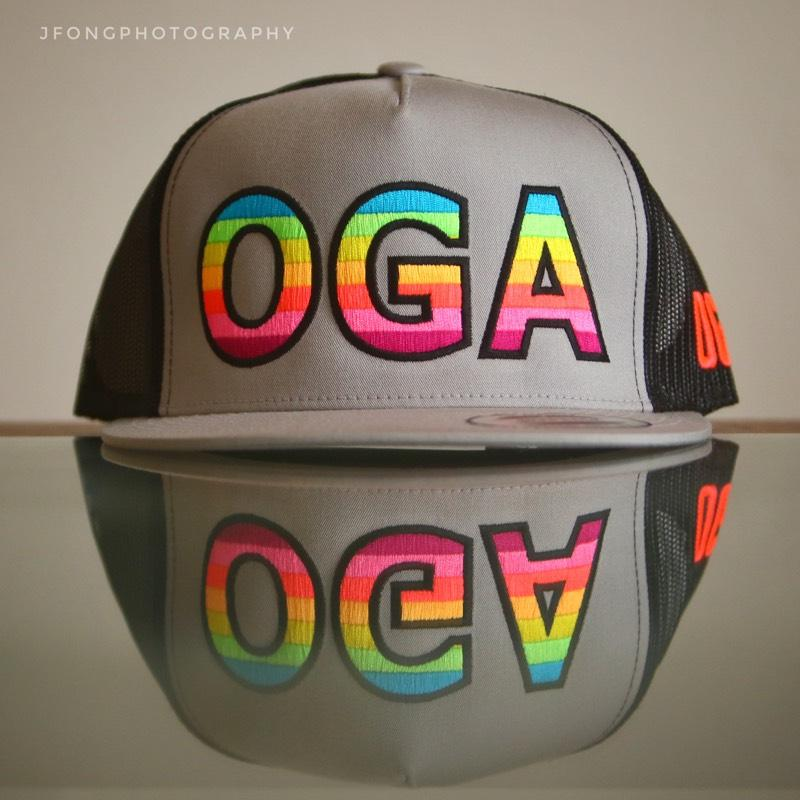 OGA SHAVE ICE (SILVER AND BLACK)