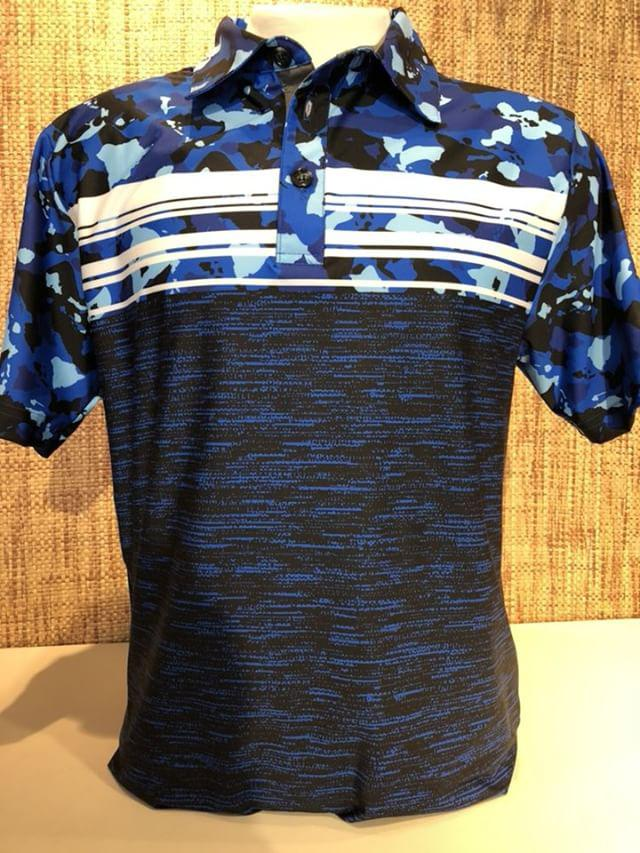 LIMITED EDITION HAWAIIAN ISLAND BLUE,BLACK CAMO (BLACK BOTTOM )