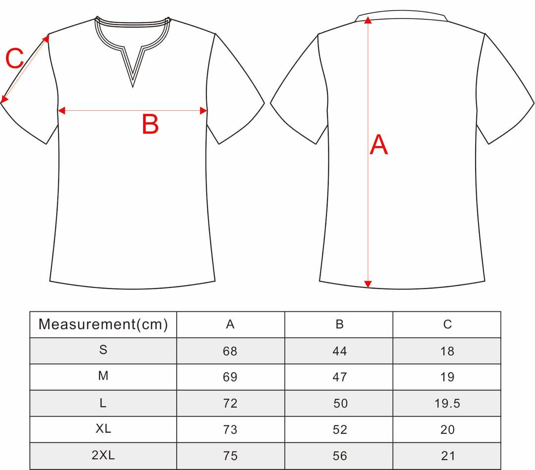 MENS and LADIES POLO SIZING CHART