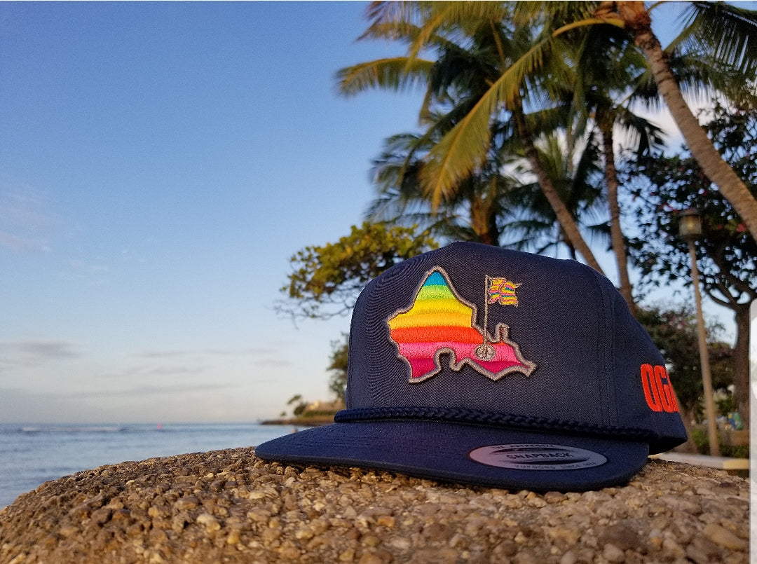 SHAVE ICE RETRO WITH ROPE (NAVY)
