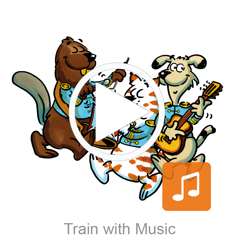 Train with Music