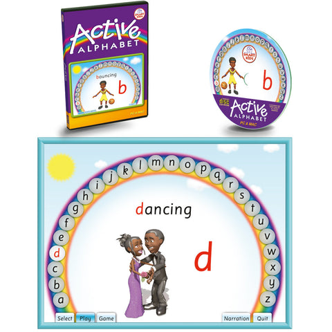 Active Alphabet CD-ROM