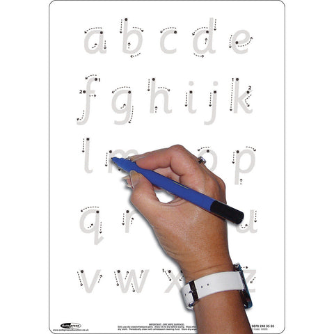 A4 Letter Formation Whiteboards Pack of 5