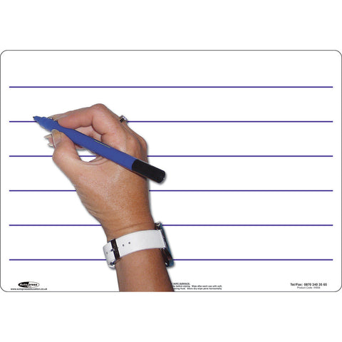 A4 Lined Whiteboards Pack of 5