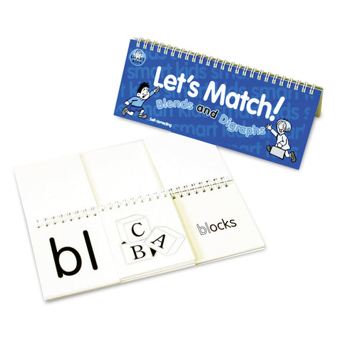 Let's Match Blends / Digraphs Flipbook