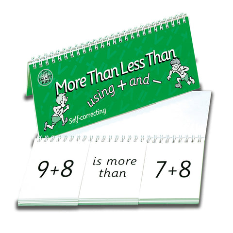 More Than Less Than + and -