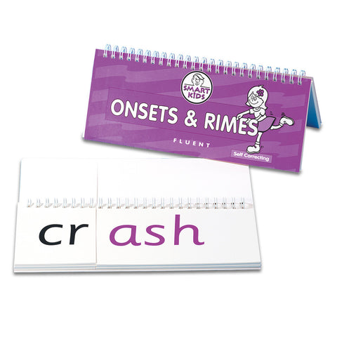 Onsets and Rimes Flipbook - Fluent