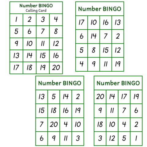 photograph regarding Large Printable Numbers 1-20 referred to as Downloads Printables Clever Little ones