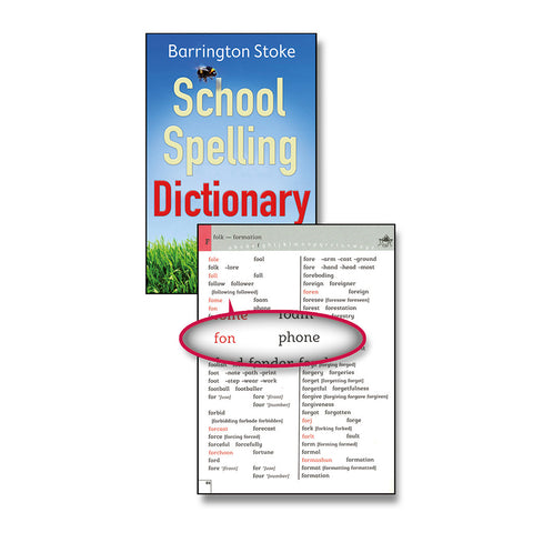 School Spelling Dictionary