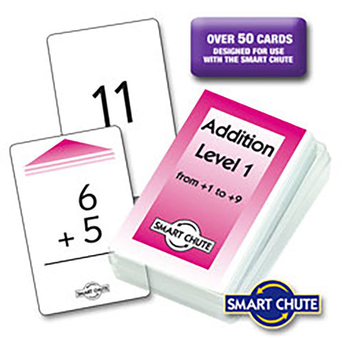 Addition Facts Chute Cards Vertical Sums
