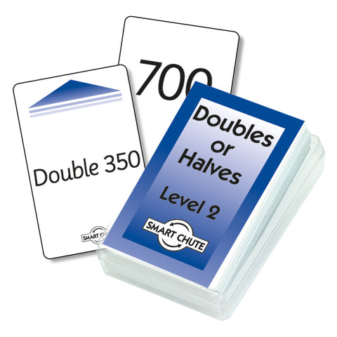 Double / Halves Chute Cards - Level 2