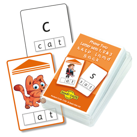 Letters and Sounds Phase 2 Letter Sets 1-3 Chute Cards