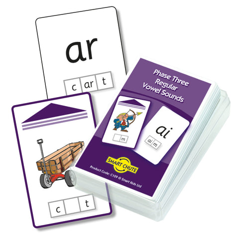Letters and Sounds Phase 3 Vowel Digraphs Chute Cards