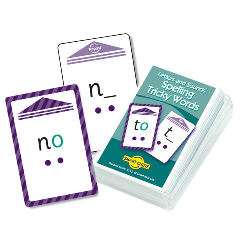 Letters and Sounds Phases 3-6 Tricky Words Chute Cards