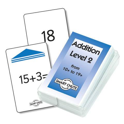 Addition Facts Chute Cards - Level 2