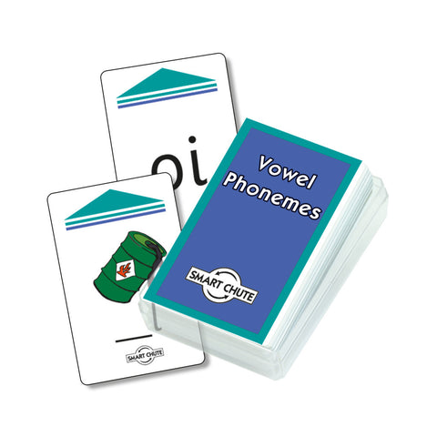 Vowel Phonemes Chute Cards