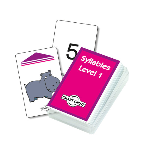 Syllables Chute Cards - Level 1