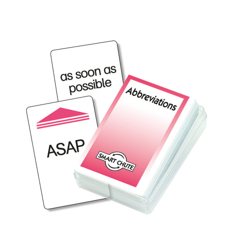 Abbreviations Chute Cards