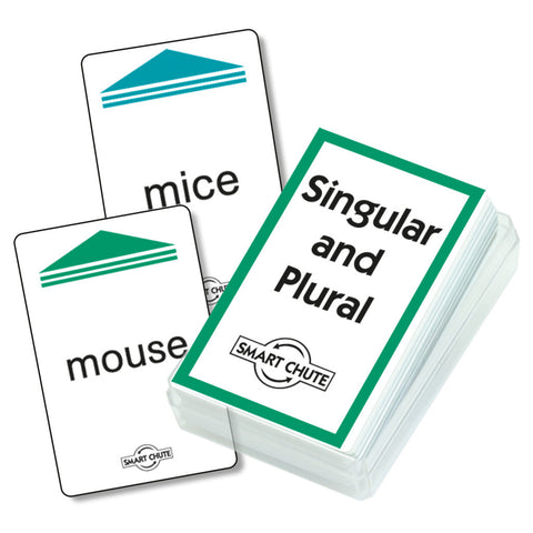 Singular and Plural Chute Cards
