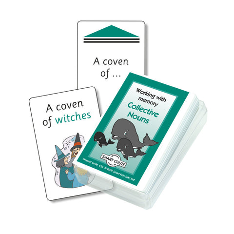 Collective Nouns Chute Cards