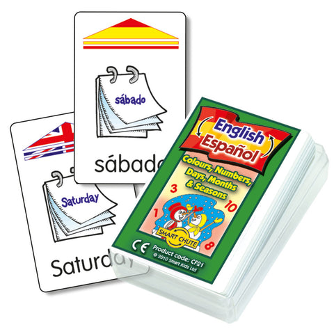 Spanish Basics Chute Cards