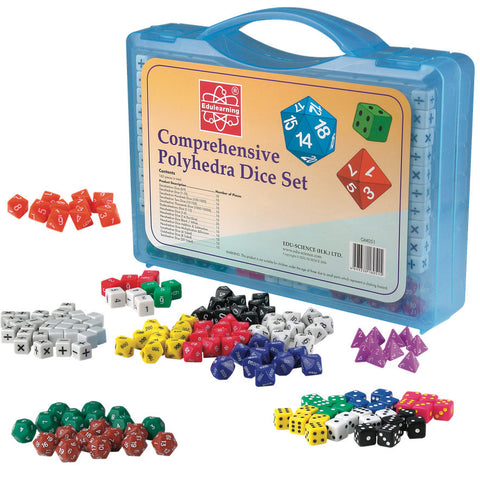 Comprehensive Dice Set