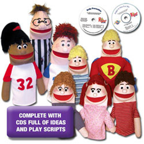 Anger Management & Bullying Prevention Puppets & Ideas