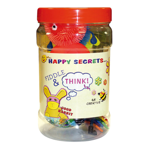 Fiddle and Think Sensory Jar