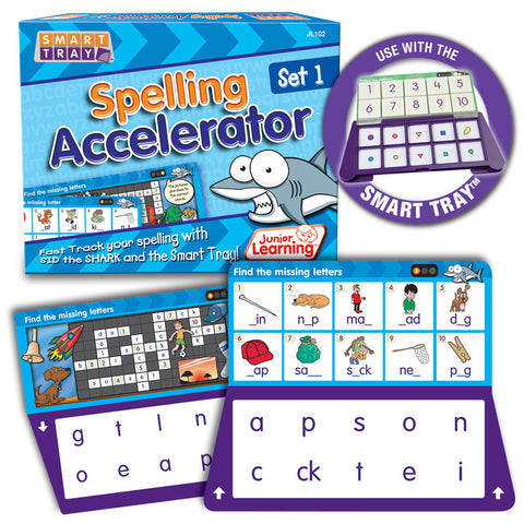 Smart Tray Spelling Accelerator Set 1