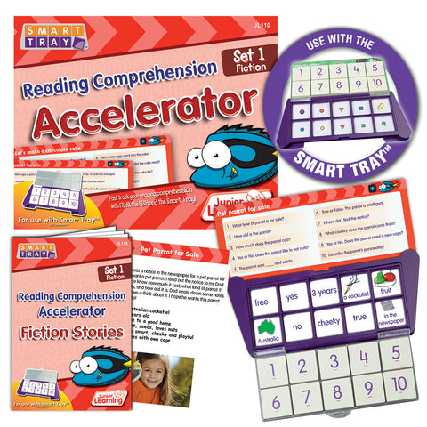 Smart Tray Reading Comprehension Accelerator Set 1