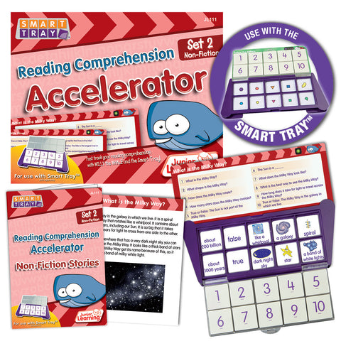 Smart Tray Reading Comprehension Accelerator Set 2