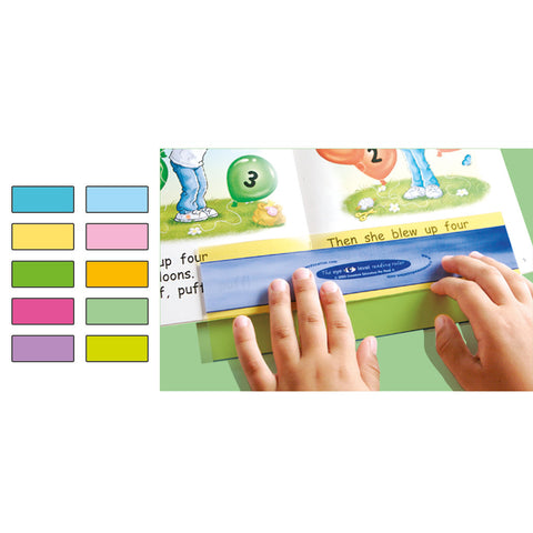 Eye Level Reading Rulers (30 Pack - Mixed Colours)
