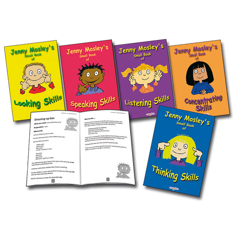 Jenny Mosley's Small Books of Skills (5 Pack)