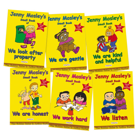 Jenny Mosley's Golden Rules Story Books (set of 6)