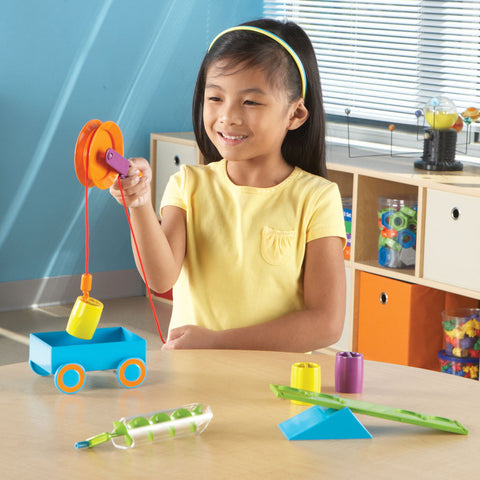 STEM - SIMPLE MACHINES ACTIVITY SET