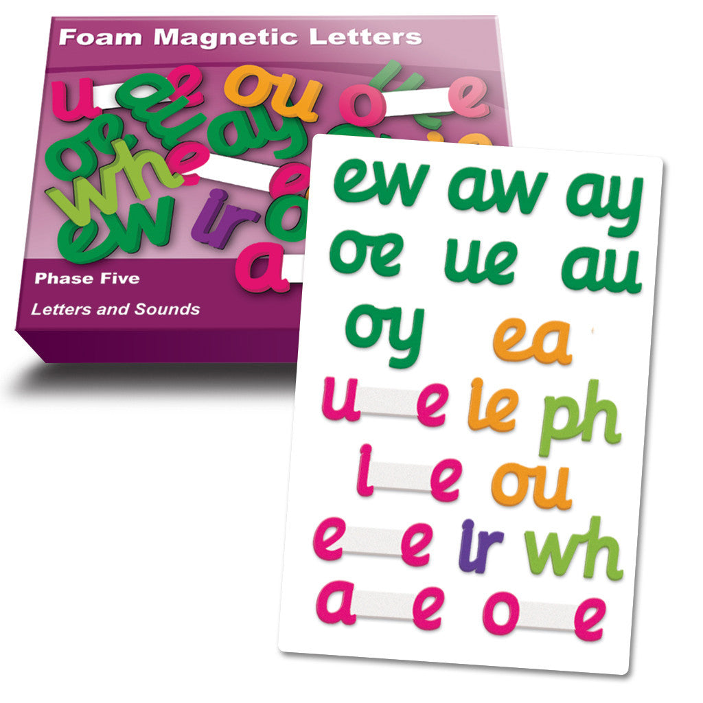 Magnetic Foam Letters - Phase 5