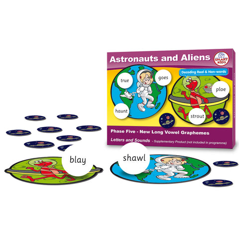 Astronauts and Aliens Phase 5 Long Vowels