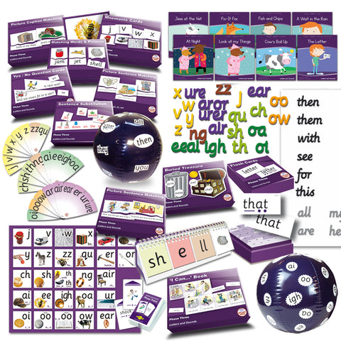 Letters & Sounds Phase 3 Premium Kit