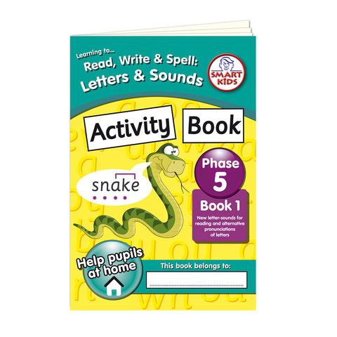 Letters and Sounds Phase 5 Activity Book 1