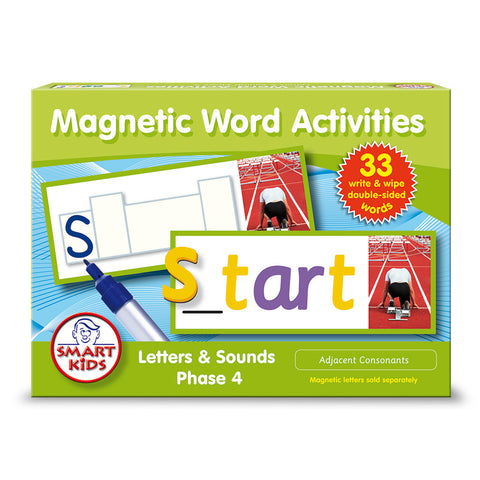 Magnetic Word Activities Phase 4