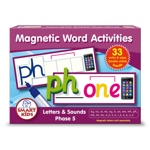 Magnetic Word Activities Phase 5