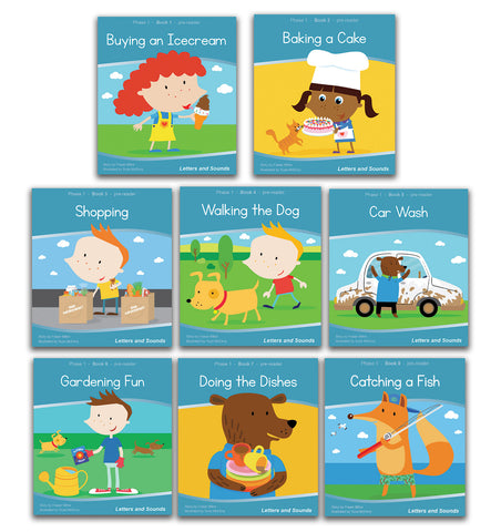 Phase 1 Wordless Readers - Guided Reading (6 Sets)