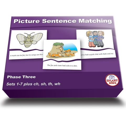 Picture Sentence Matching Phase Three Set 2