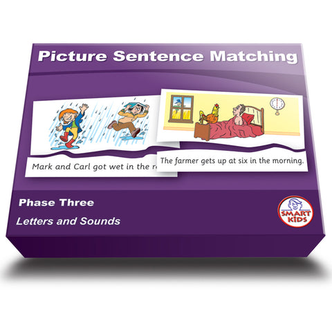 Picture Sentence Matching Phase Three Set 1