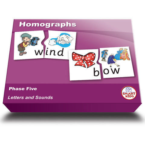 Homographs Puzzles - Phase Five