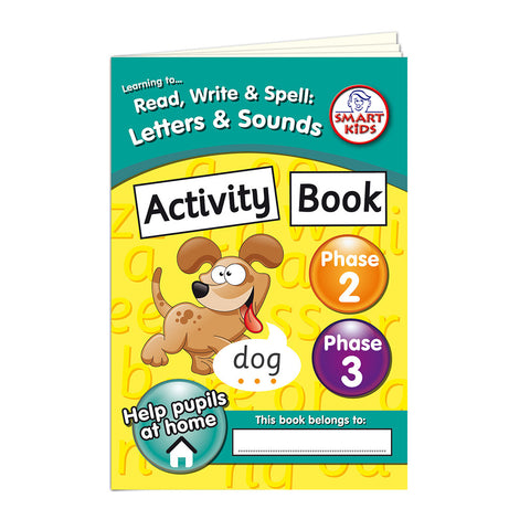 Phase 2 & 3 Activity Book Pack of 6